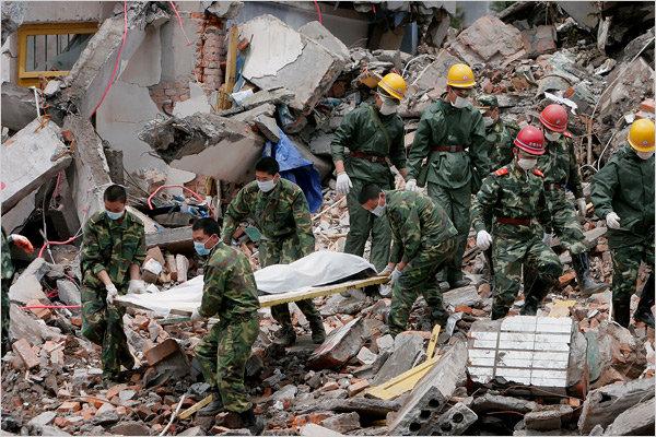 2008年四川地震 救援图片